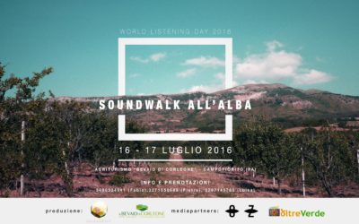 Soundwalk all'Alba – World Listening Day 2016