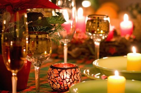 Felici vacanze in tavola